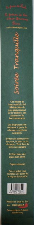 Soiree Tranquille Encens D 39 Ext Rieur Contre Les Moustiques