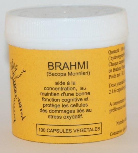 BRAHMI - 100 capsules