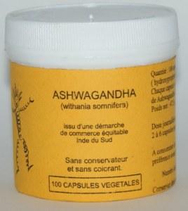 ASHWAGANDHA - 100 capsules