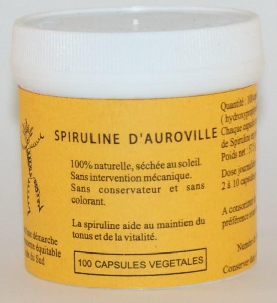 SPIRULINE - 100 capsules