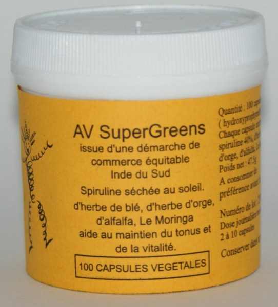 SUPERGREEN - 100 gélules