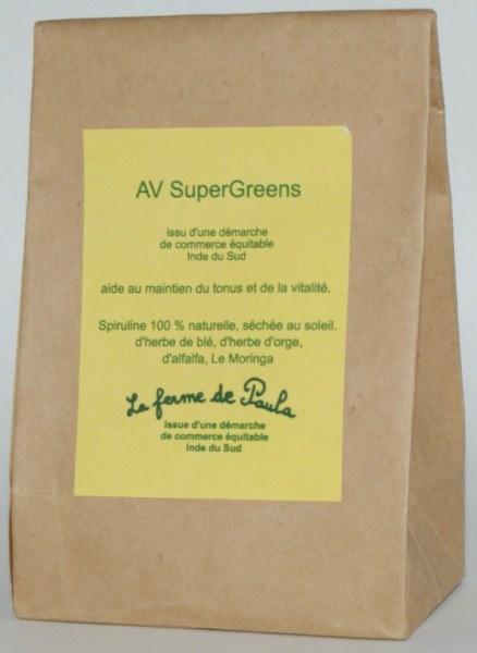 SUPERGREEN - 100g de poudre