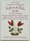 Basilic Bio - Cônes d'encens