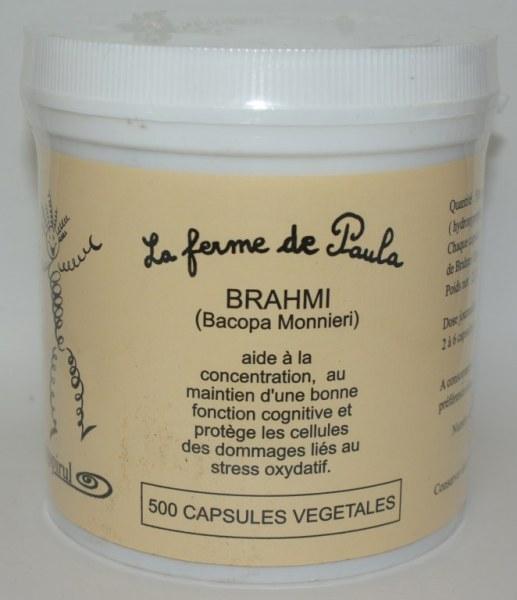 BRAHMI - 500 capsules