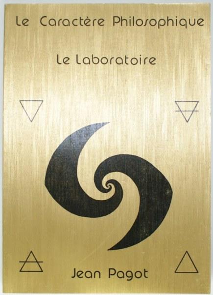 Le laboratoire - Le caractère philosophique