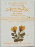 Citronnelle de Ceylan Bio - Cônes d'encens