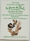Lemongrass Bio - Cônes d'encens