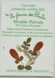 Menthe poivrée Bio - Cônes d'encens
