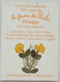 Orange - Cônes d'encens