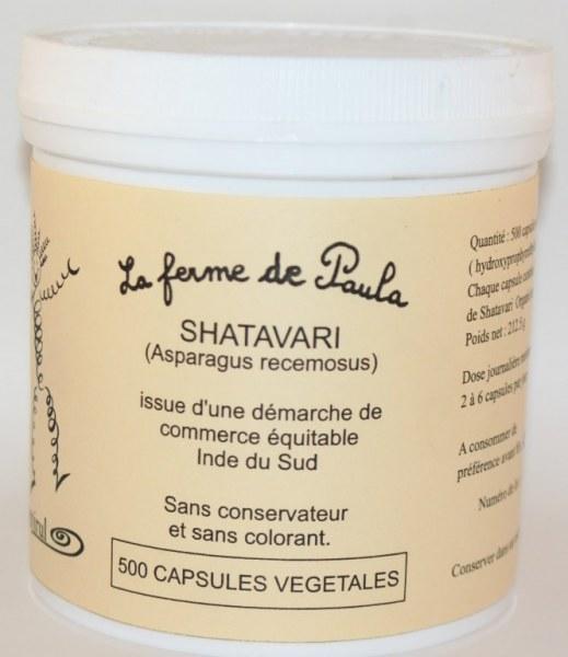 SHATAVARI - 500 capsules