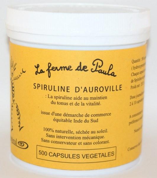 SPIRULINE - 500 capsules