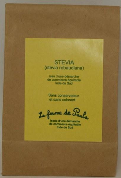 STEVIA - 100 g de poudre, mais aussi bien d'autres vertues dont on n'a pas le droit de parler...