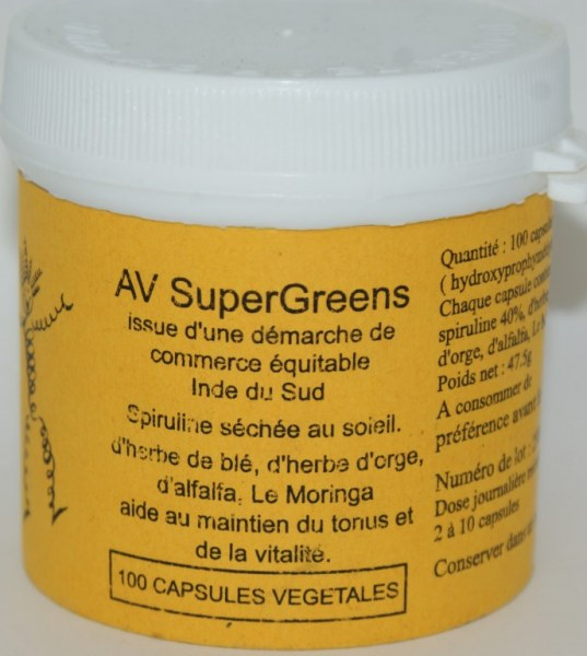 SUPERGREEN - 500 gélules