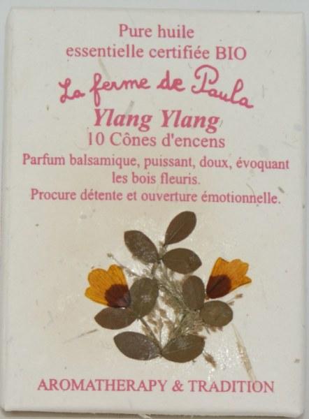 Ylang Ylang Bio - Cônes d'encens